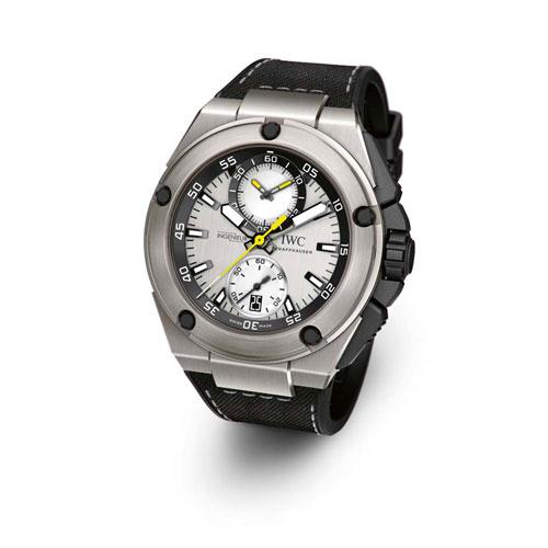 Nico Rosberg & Lewis Hamilton present their own IWC watches