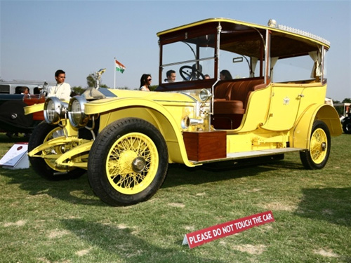 Cartier 'Travel with Style' Concours India