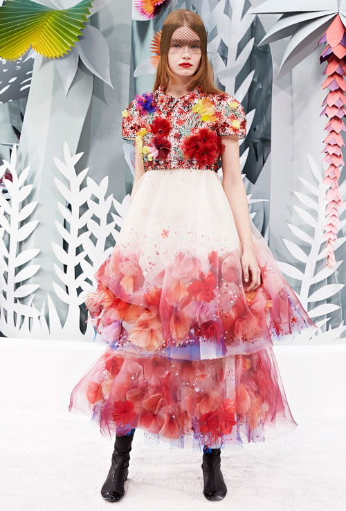 Chanel Spring Summer 2015 Haute Couture