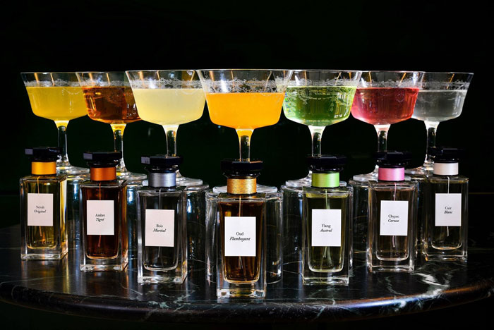 Givenchy Parfums inspired cocktails at Hotel Cafe Royal