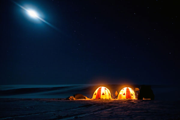 Iceland luxury camps