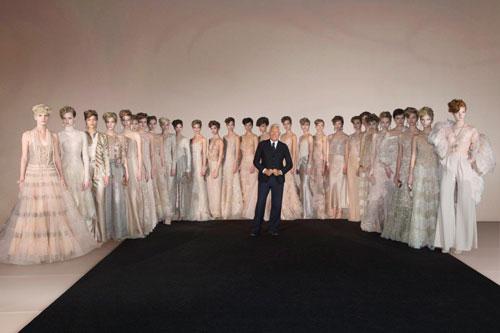 Giorgio Armani One Night Only New York fashion collection