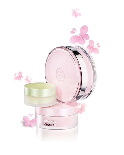 Chanel Chance range of fragrant body products
