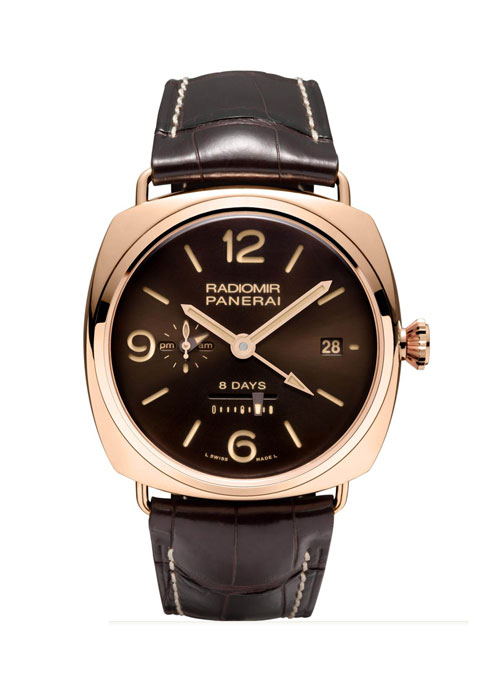 Panerai launches special edition Radiomir 8 Days GMT Oro Rosso