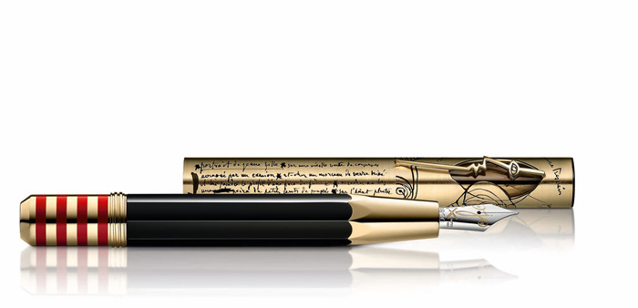 Montblanc pen dedicated to Pablo Picasso