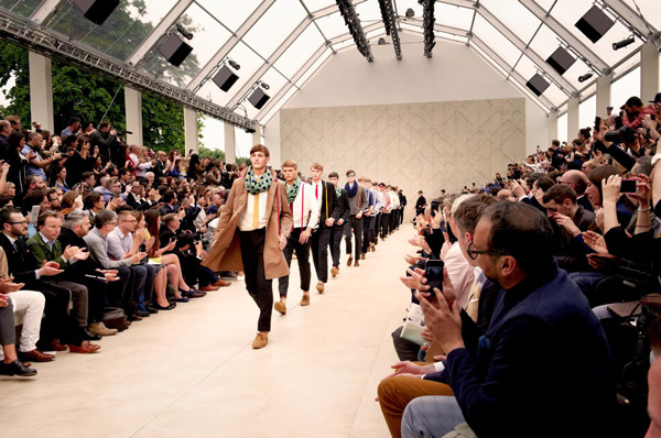 Burberry Menswear Spring/Summer 2014 collection