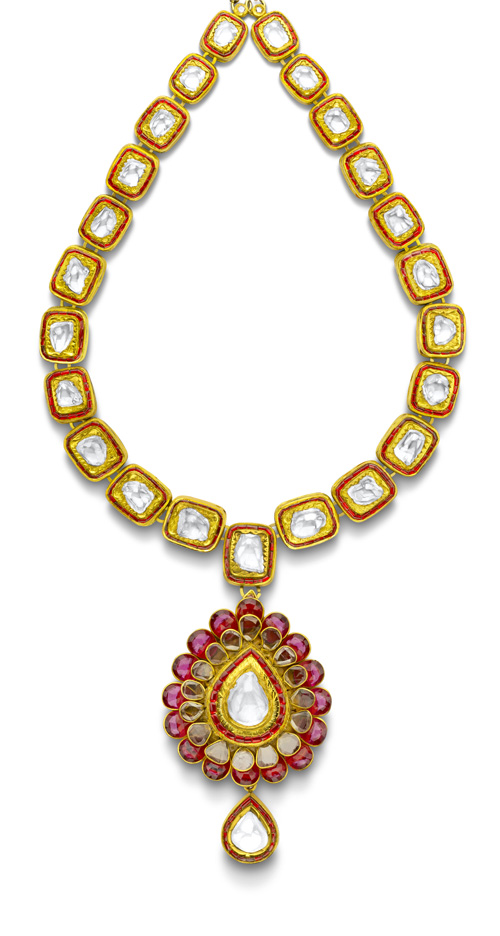 House of Rose Polki necklace