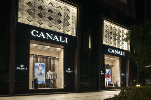 Canali opens boutique in Shanghai