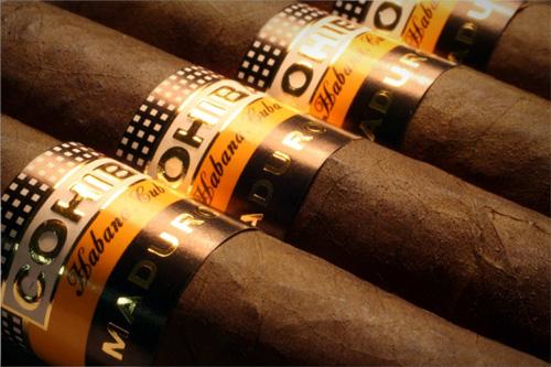 luxury Cuban cigars