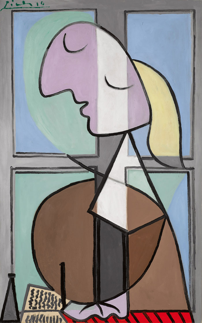 Pablo Picasso's painting of Marie-Therese Sothebys London