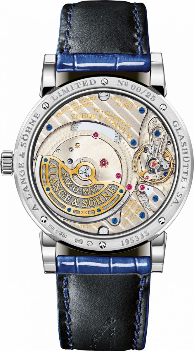 A Lange & Sohne Saxonia Annual Calendar for America