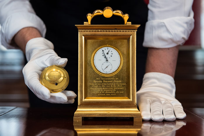 Lord Admiral Horatio Nelson's Victory Watch