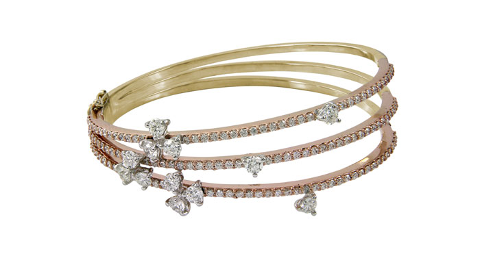 Forevermark India Pink Haze collection