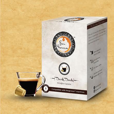 Bonhomia Coffee Capsules Dark Deeds flavour