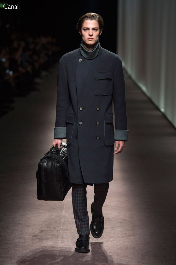 Canali Fall Winter 2016-17 collection