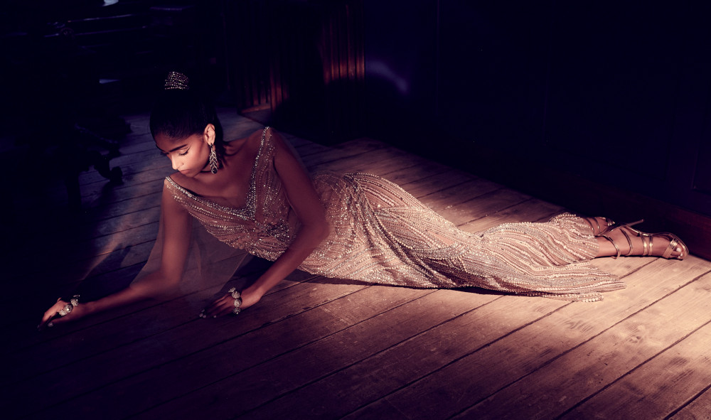 Dilnaz Karbhary hand embroidered gown