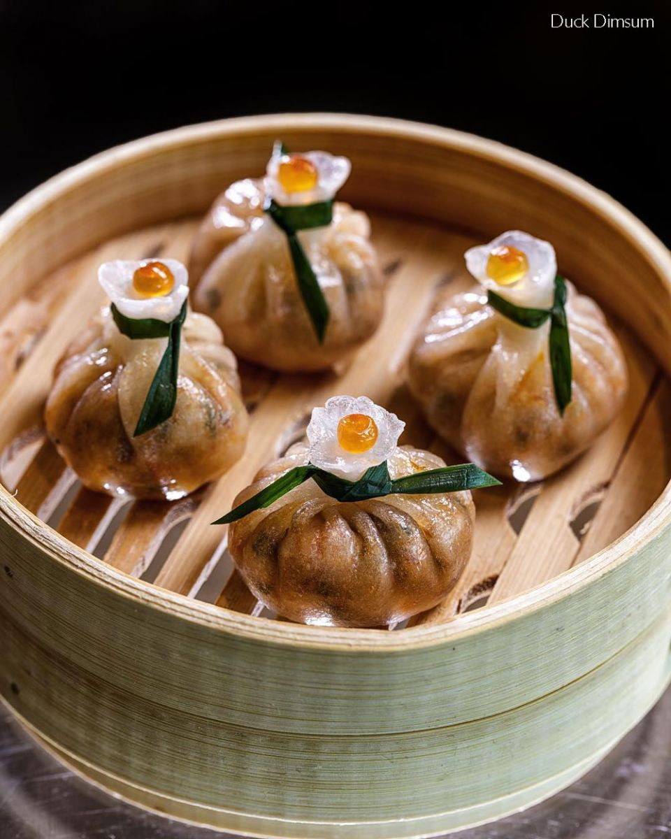 Duck Dimsums ChaoBella Crowne Plaza Okhla hotel