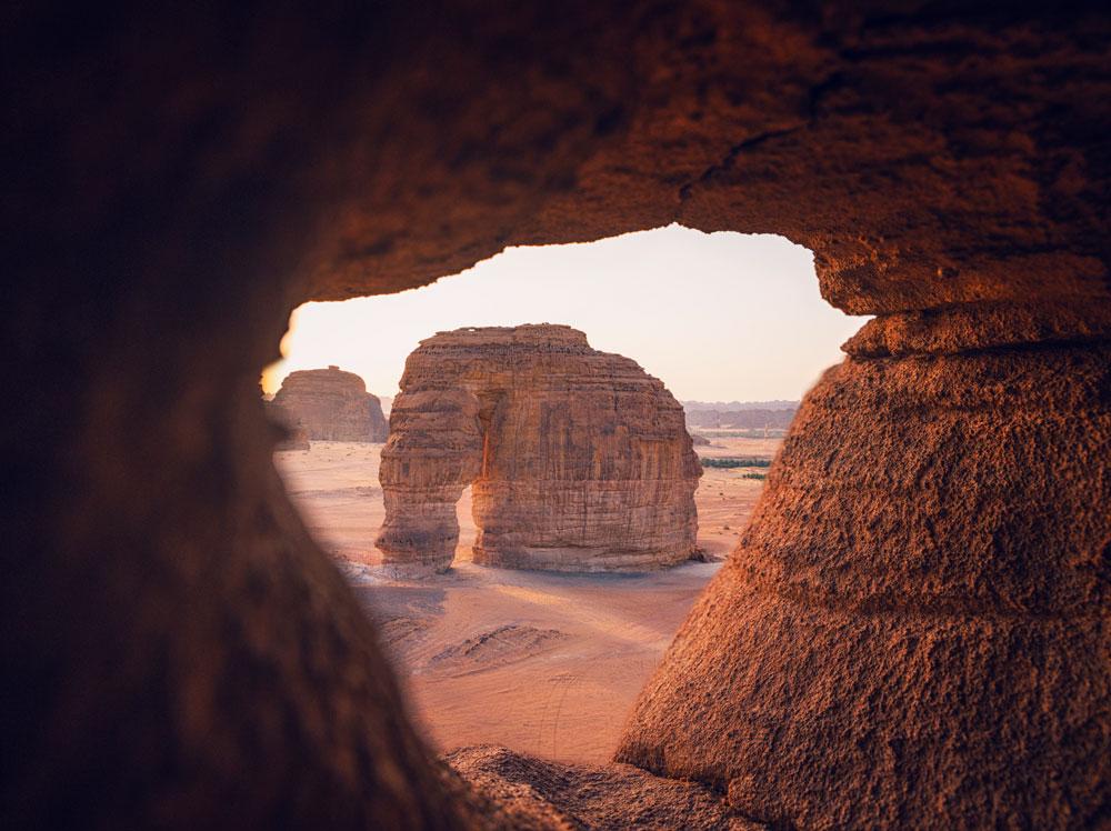Elephant Rock Saudi Arabia