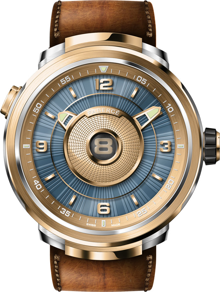 Faberge DTZ Visionnaire watch 2018 with two timezones