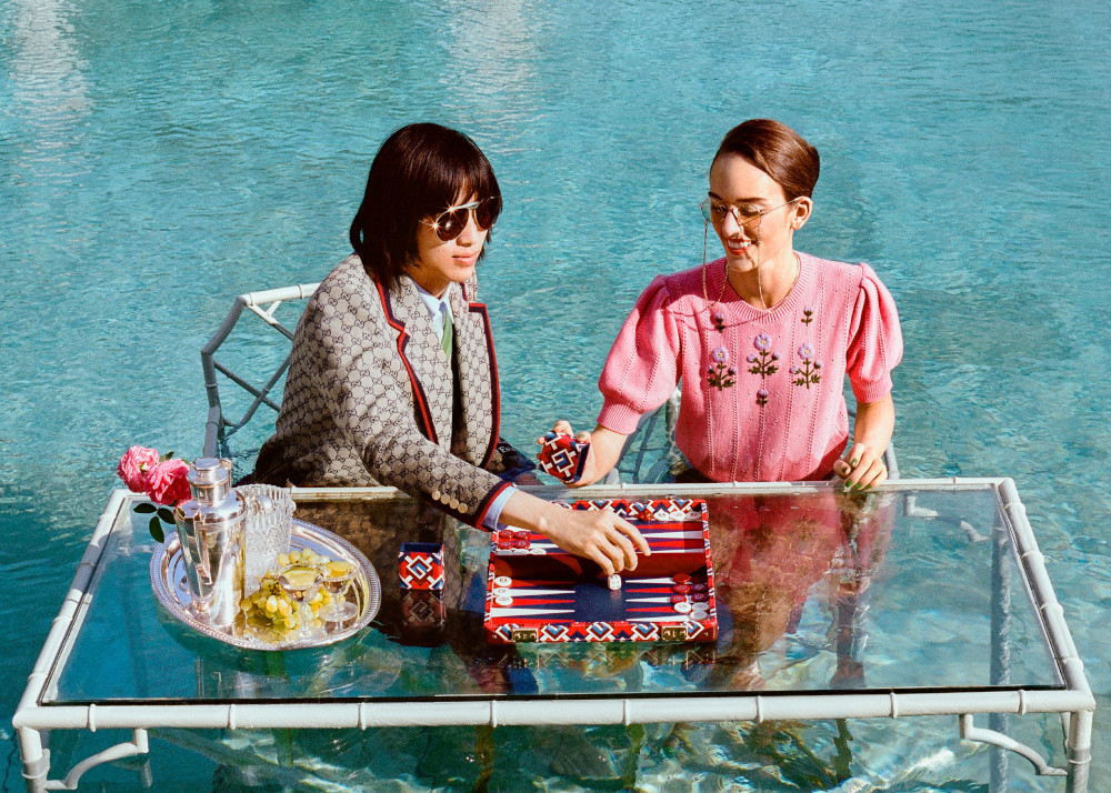 Gucci Lifestyle collection Backgammon