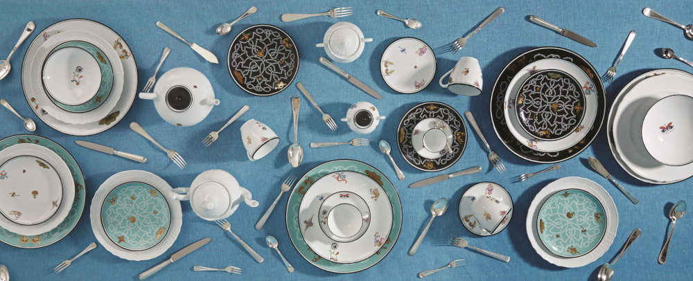 Ginori 1735 Arcadia Tableware collection