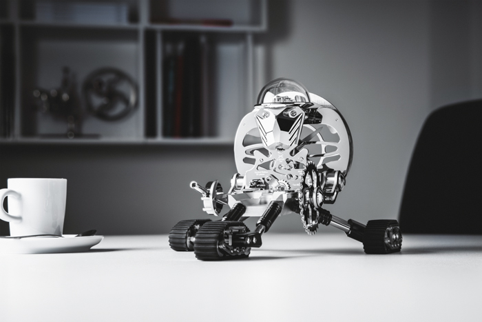 MB&F and L'Epee Grant Robot-Clock