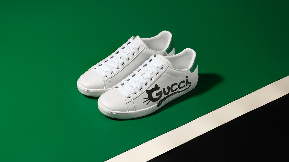 Gucci New Ace made with Demetra