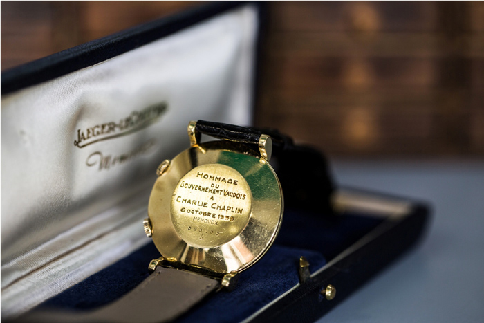 Jaeger-LeCoultre Memovox worn by Charlie Chaplin