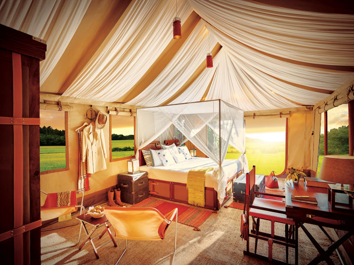The Ultimate Travelling Camp tent Sangam Nivas