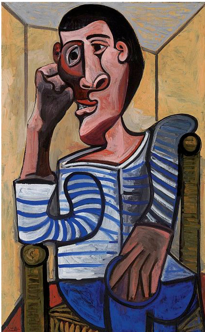 Le Marin by Picasso 1943