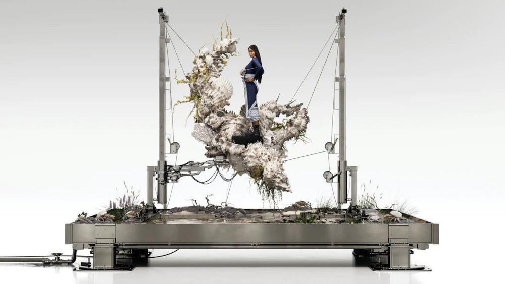 Burberry Naomi Campbell Monogram campaign