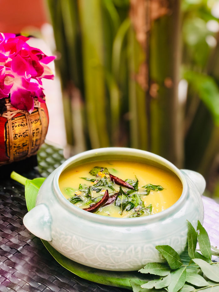 yellow dal with Mango Spice Route Imperial New Delhi