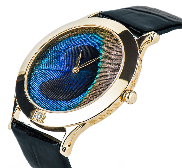 Jaipur Watch Company Peacock Feather Watch