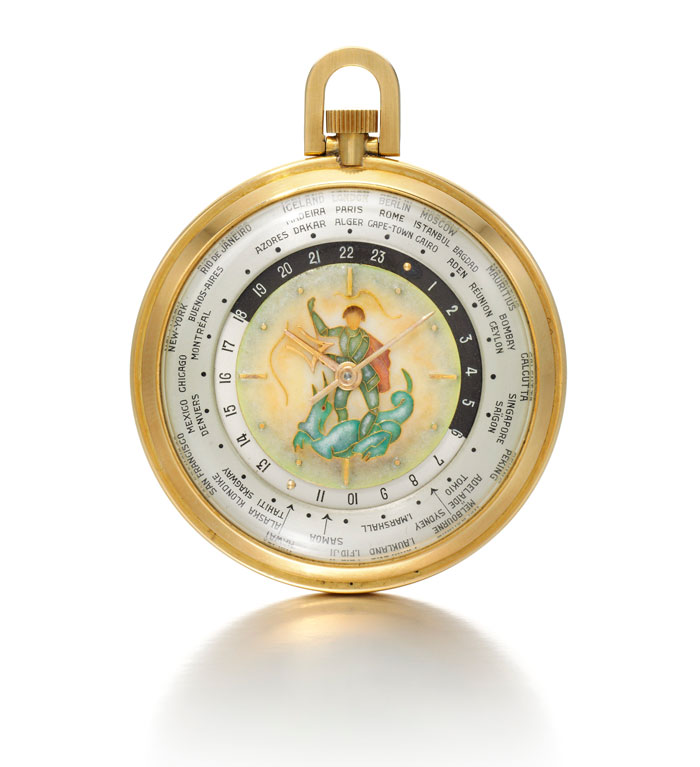 Winston Churchill pocket watch for auction by sotheby's