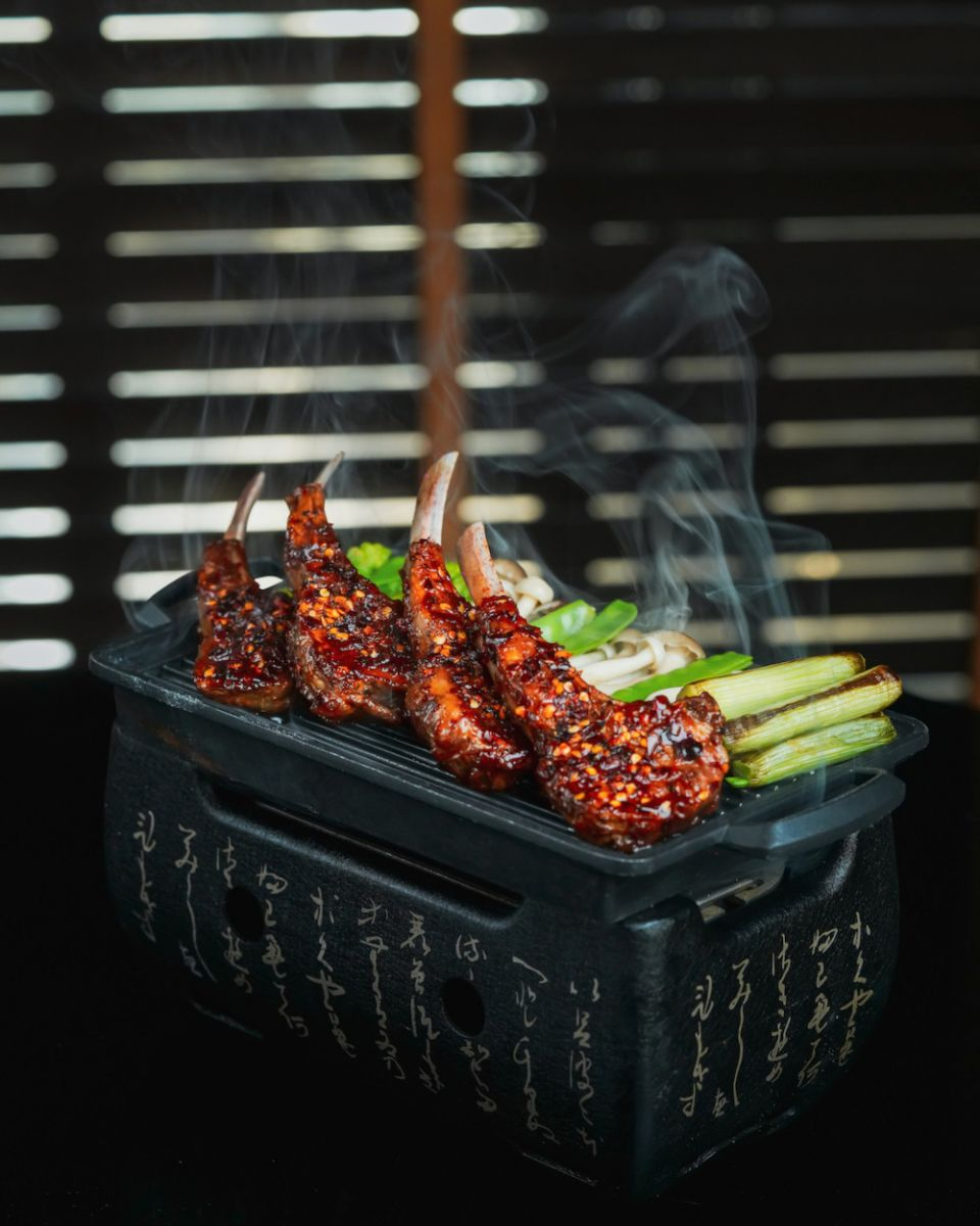 Smoked Sichuan Spiced Lamb Chops