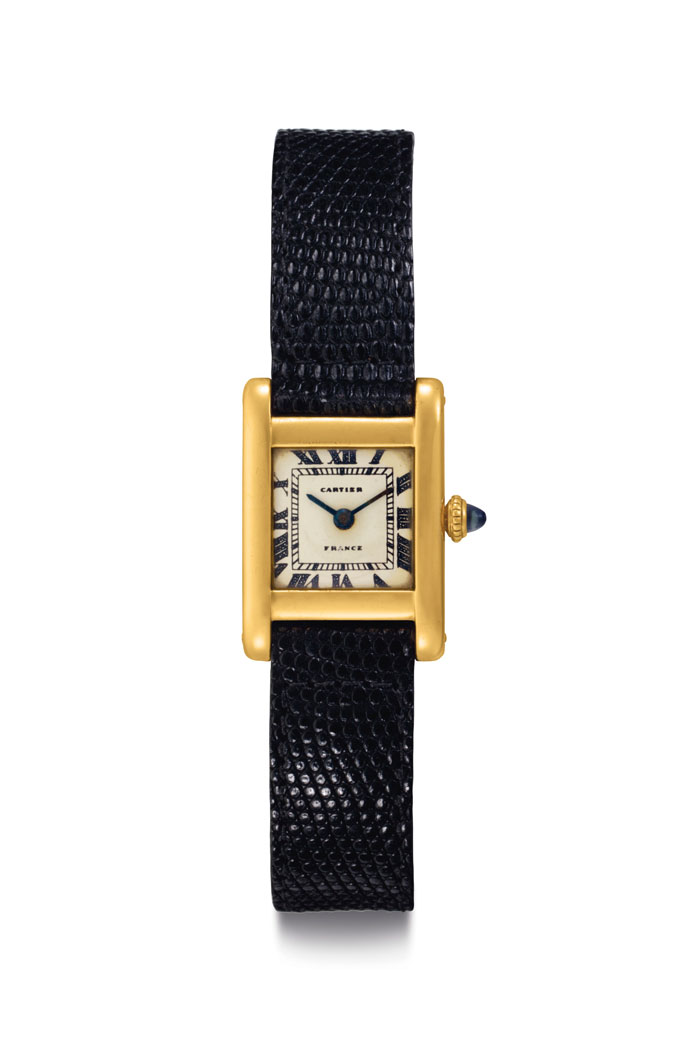 Jacqueline Kennedy Onassis Cartier Tank