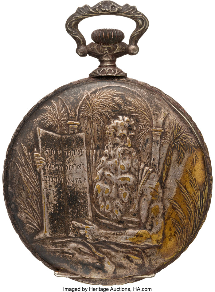 Titanic Ship pocket watch auctioned by Heritage Auctions