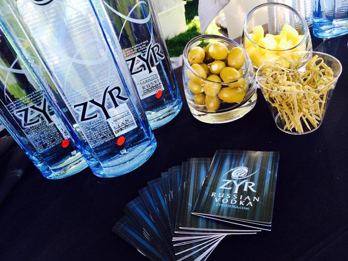 Zyr Vodka at Chicago Gourmet 2015