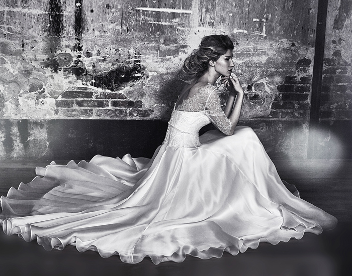 Ana Quasoar Goddesses in Love - Bridal Gown inspired by Goddess Cliona