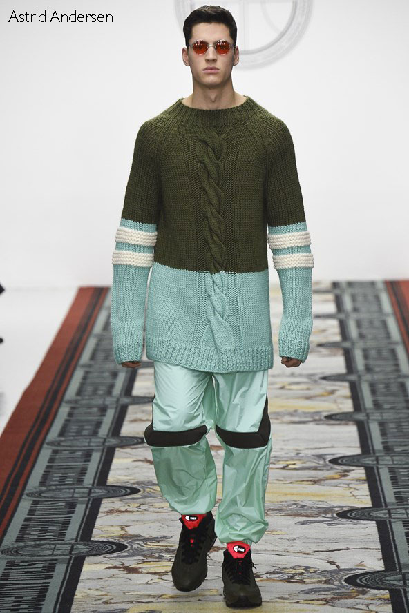 Astrid Andersen Fall Winter 2016-17 collection