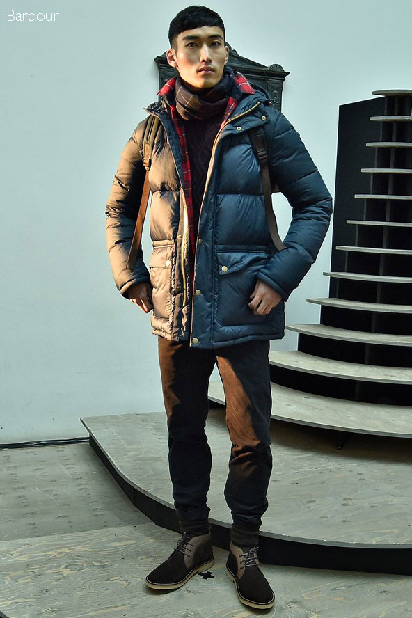 Barbour Fall Winter 2016-17 collection