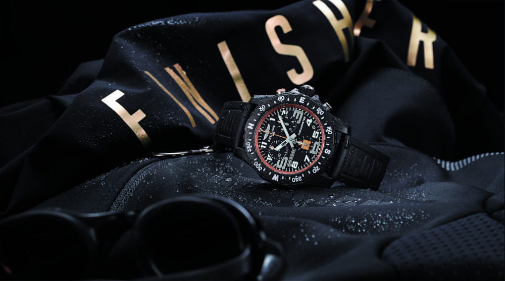 Ironman Endurance Pro watch gold by Breitling