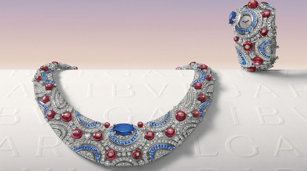 Bvlgari Magnifica High Jewelry necklace Watch