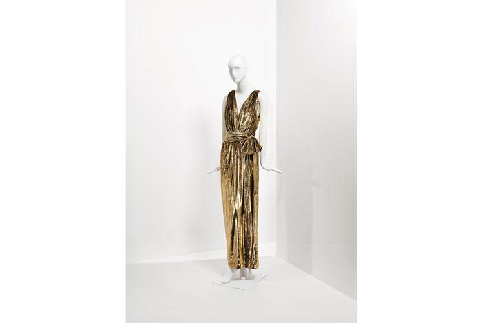Catherine Deneuve dress by Yves Saint Laurent for auction
