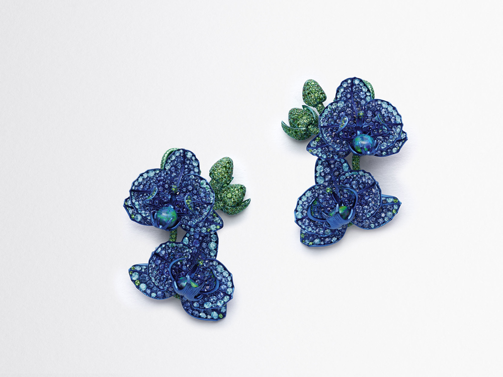 Caroline Scheufele, Co-President & Artistic Director of Chopard and initiator of its Journey to Sustainable Luxury, is celebrating the environment, along with its flora and fauna, with her new collection.