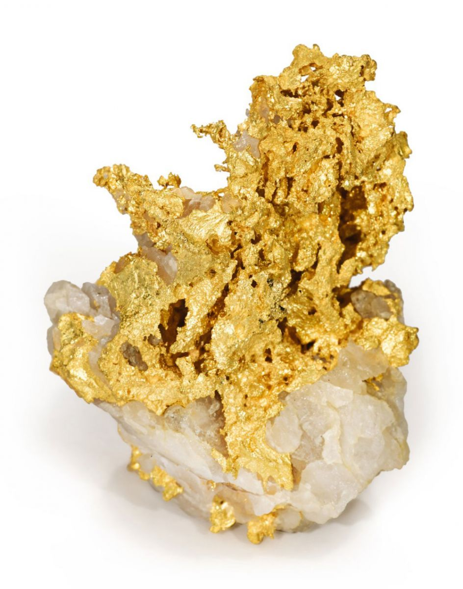 Crystalline Gold Quartz auction by Sotheby's