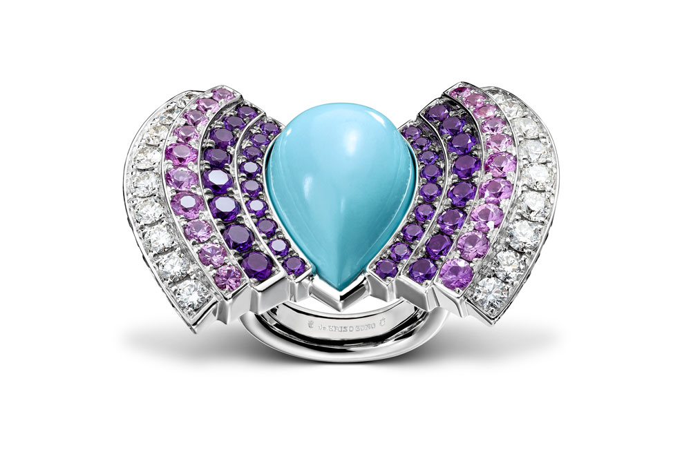 de Grisogono Mediterranean high jewelry collection ring