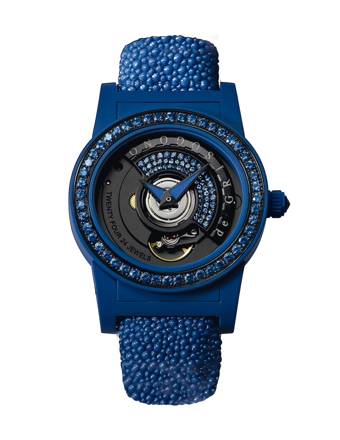 de Grisogono Tondo by Night timepiece blue