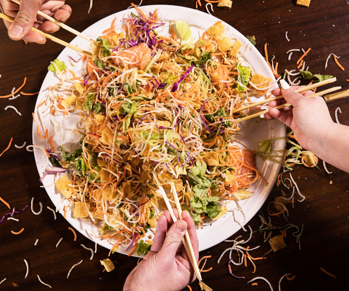 Noodle Salad Toss at Imperial Lamian Chicago