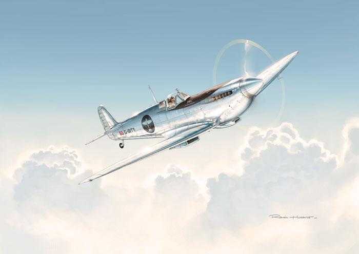 IWC Schaffhausen Silver Spitfire Partnership